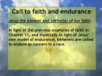 call to faith and endurance34