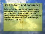 call to faith and endurance39