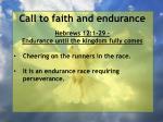 call to faith and endurance5