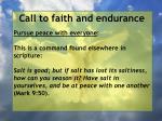 call to faith and endurance80
