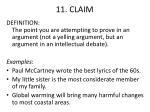 11 claim