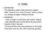 5 tone