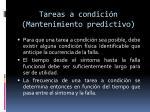 tareas a condici n mantenimiento predictivo