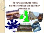 the various cultures within northern ireland and how they influence us
