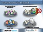 escenarios de virtualizaci n