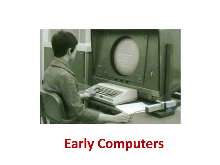 early computers n.