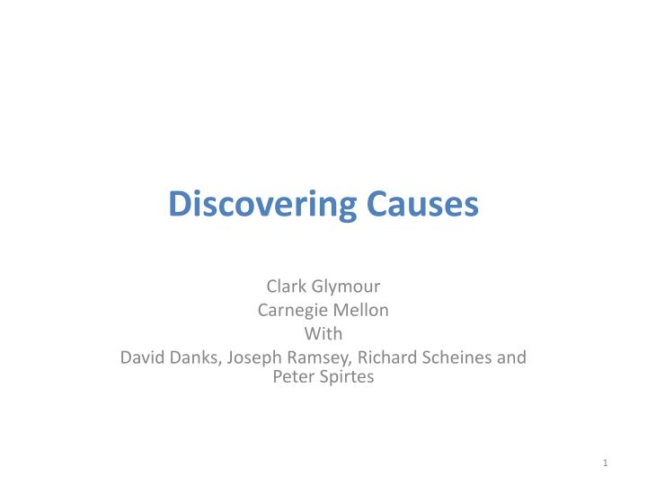 discovering causes n.