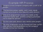 example hr process