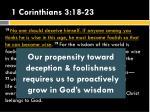 1 corinthians 3 18 231