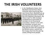 the irish volunteers
