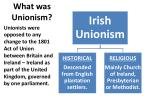 what was unionism
