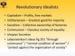 revolutionary idealists