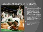 4 stages of agility and quickness1