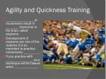 agility and quickness training1