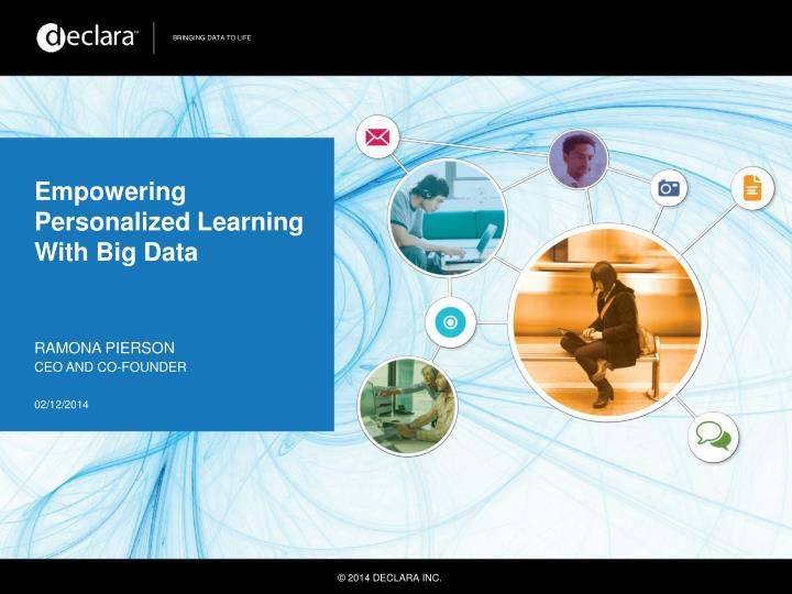 empowering personalized learning with big data n.