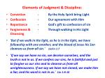 elements of judgment discipline