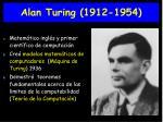 alan turing 1912 1954