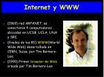internet y www