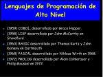 lenguajes de programaci n de alto nivel1