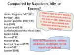 conquered by napoleon ally or enemy