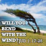 will you bend with the wind
