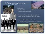 a changing culture1
