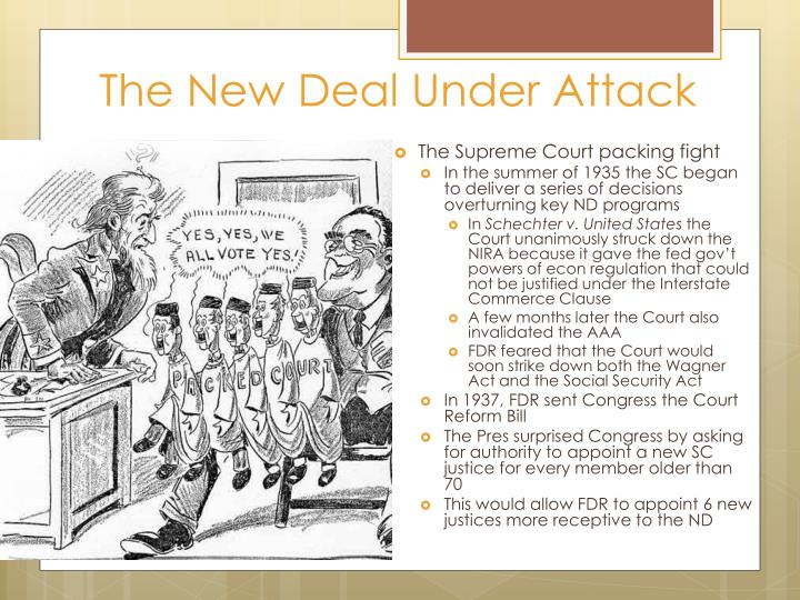 The New Deal Under Attack