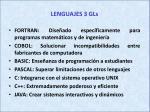 lenguajes 3 gls