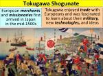 tokugawa shogunate1