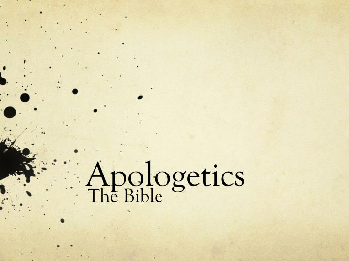 apologetics n.