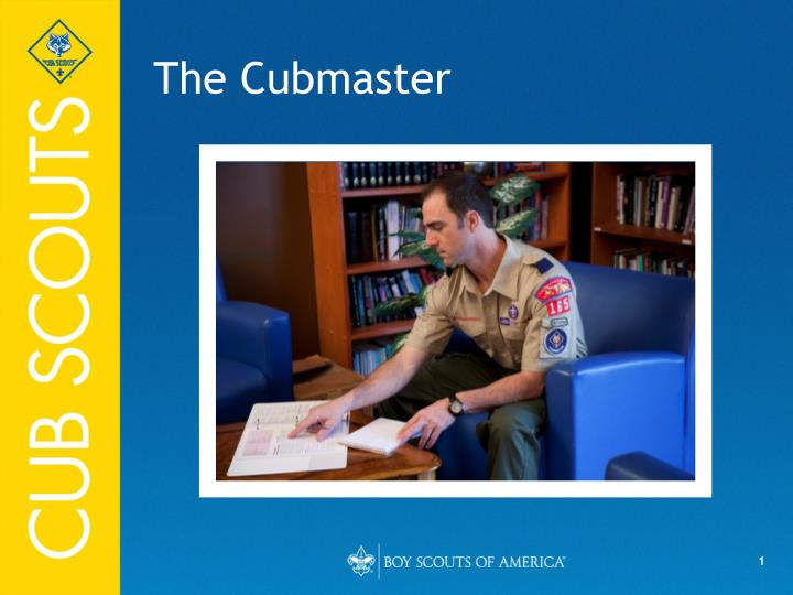 the cubmaster n.