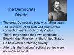the democrats divide1
