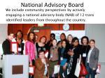 national advisory board