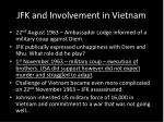 jfk and involvement in vietnam2