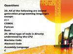 questions11