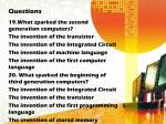 questions9