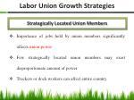 labor union growth strategies
