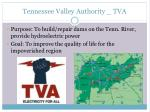 tennessee valley authority tva