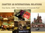 chapter 18 international relations