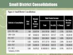 small district consolidations