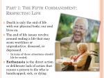 part 1 the fifth commandment respecting life15