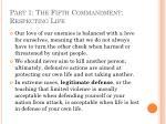 part 1 the fifth commandment respecting life24