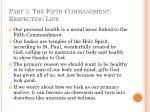 part 1 the fifth commandment respecting life34
