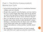 part 1 the fifth commandment respecting life38