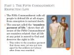part 1 the fifth commandment respecting life6