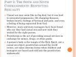 part 2 the sixth and ninth commandments respecting sexuality17