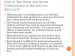 part 2 the sixth and ninth commandments respecting sexuality19