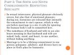 part 2 the sixth and ninth commandments respecting sexuality22