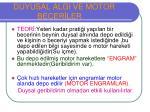 duyusal algi ve motor becer ler