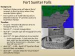 fort sumter falls
